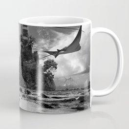 Surf Island at Rays Lighthouse Coffee Mug