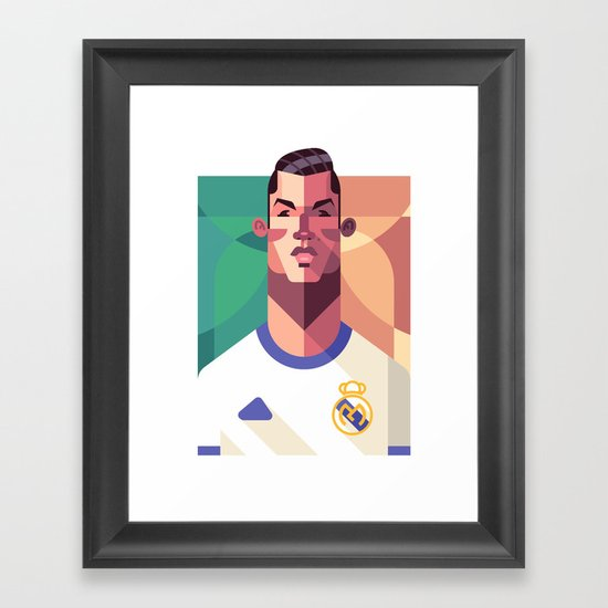 CR7 | Los Merengues Framed Art Print