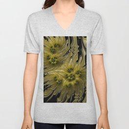 Xanthian Sunflowers Unisex V-Neck