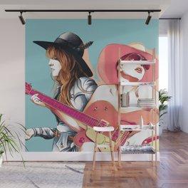 Hey Girl Wall Mural