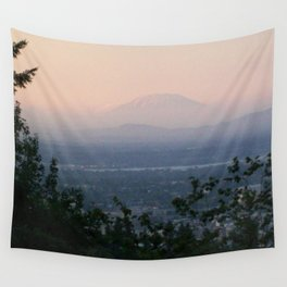 St Helens at Sunrise Wall Tapestry