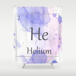 Elementals: He Shower Curtain