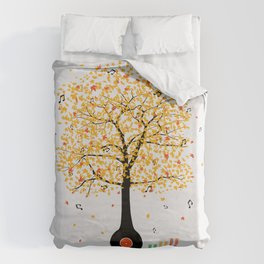 Sounds of Nature Duvet Cover