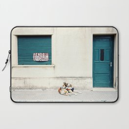 Street dog in Uruguay Laptop Sleeve