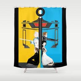 Tron Shower Curtain