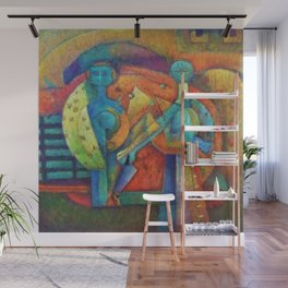 Two Figures by Rufino Tamayo Wall Mural
