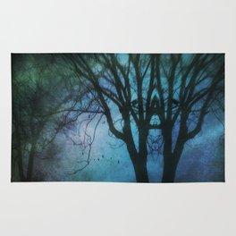 Rorschach Tree Rug