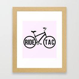 RIDE TAC Framed Art Print