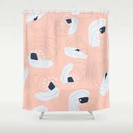 Stop & Smell the Roses Shower Curtain