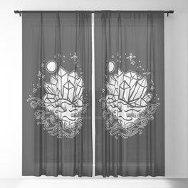 Crystal Island Sheer Curtain