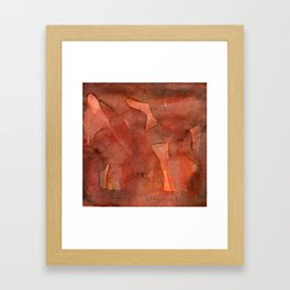 Abstract Nudes Framed Art Print
