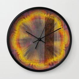 Sapful Woof Flower  ID:16165-124231-30851 Wall Clock