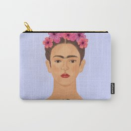 Frida floral Carry-All Pouch