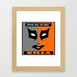 MASK KILLA 3 Framed Art Print