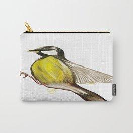 Bird in Flight, Yellow Bird Carry-All Pouch