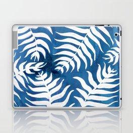 Caribean Blue Palms Laptop & iPad Skin