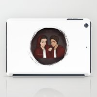 "stiles iPad Cases featuring Teen Wolf ""Scott & Stiles"" by Laia™"