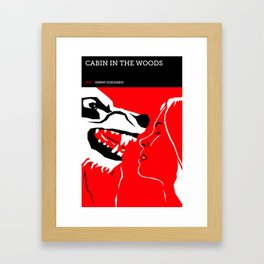 The Cabin in the Woods Framed Art Print