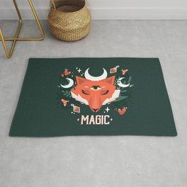 Magic Moon Fox Rug