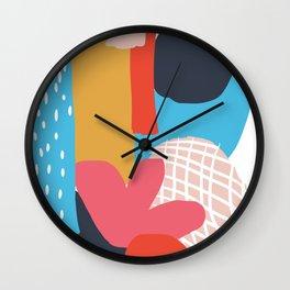 Shape Study 1 Wall Clock