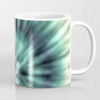 tie dye Mugs featuring TIE DYE II by Nika