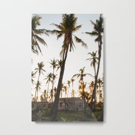 Tofo Sunset Metal Print