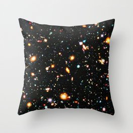 Hubble Extreme Deep Field High Resolution Throw Pillow