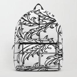 A Mediterranean Floral Backpack