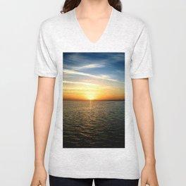 Sharm Sunrise 4 Unisex V-Neck