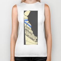 chad wys Biker Tanks featuring There's No Place Like Home [Chad] by Ebenezer Hedgehog