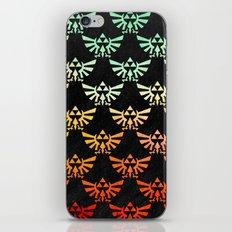 Zelda Hylian Crest iPhone & iPod Skin