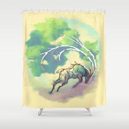 Essence of Nature - Thunderous Wind Shower Curtain