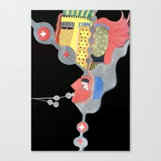 Dark minds Canvas Print
