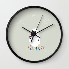 The Happy Flower Wall Clock