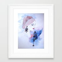 lady Framed Art Prints featuring Lady by S.Svetlankova