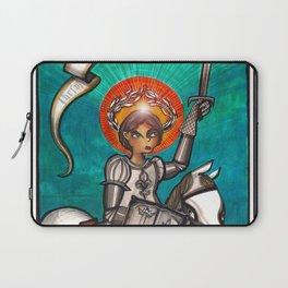 Joan of Arc Laptop Sleeve