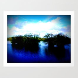 Shrubs Art Print