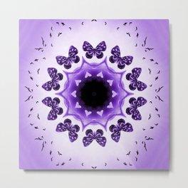 All things with wings (purple) Metal Print