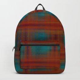 Night Swimming Plaid Backpack