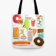 Food Stuffs Tote Bag