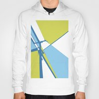 the wire Hoodies featuring High Wire by Ryan Johnson
