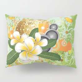 Beach party design Pillow Sham