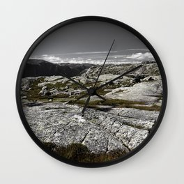 Sirdal Landscape, Norway Wall Clock