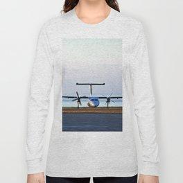 Plane Landing Long Sleeve T-shirt
