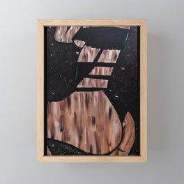 The Midnight Goddess Framed Mini Art Print