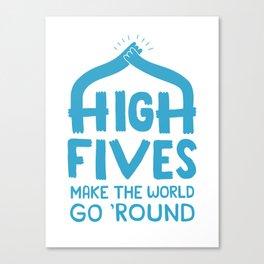 Hi-Fives Canvas Print