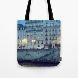 Paris by Night: Ile de la Cite Tote Bag
