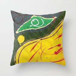 Sizzle Summer Beach Throw Pillow