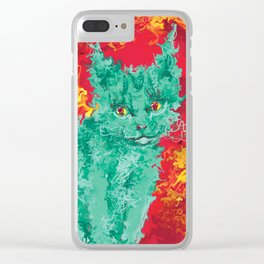 The Cat Who Loved Me Clear iPhone Case