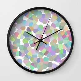 Crystalized 03 Wall Clock